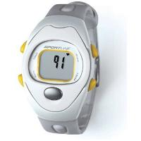 Sportline Solo 910 Heart Rate Monitor (Silver/Yellow For Women)